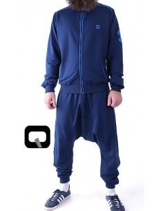 survêtement qaba'il zip bleu