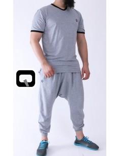 tee shirt qaba'il gris clair