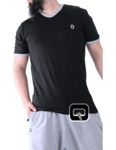 tee shirt qaba'il noir