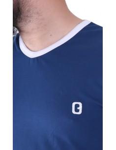 tee shirt qaba'il indigo