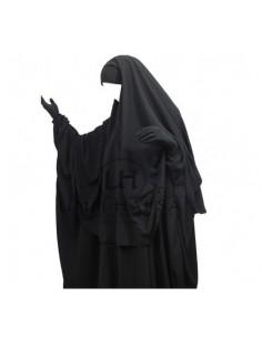 hijab /cape noire