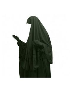 hijab /cape kaki