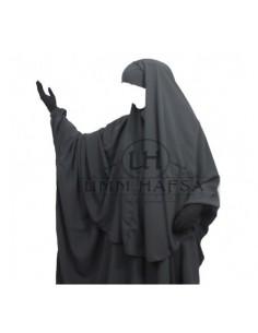 hijab /cape gris