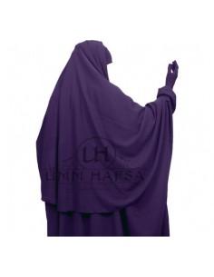 Hijab /cape aubergine