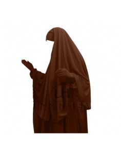 hijab /cape cannelle