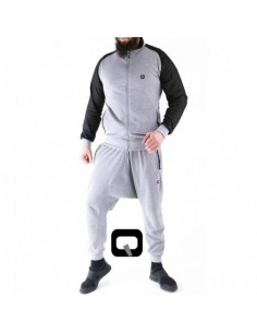 ENSEMBLE JOGGING QABA'IL GRIS CLAIR 2017