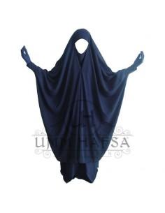 Jilbab 2 pièces à clips Bleu - Umm Hafsa