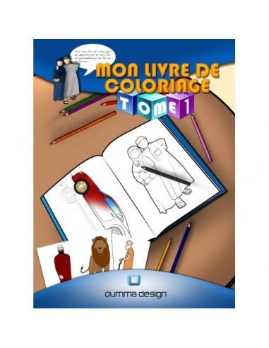 Mon livre de coloriage Tome 1