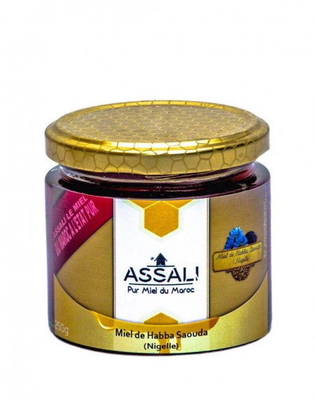 miel habba sawda Assali