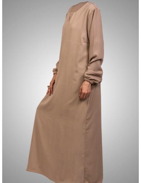 abaya beige