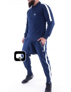 ensemble jogging qaba'il shadow bleu