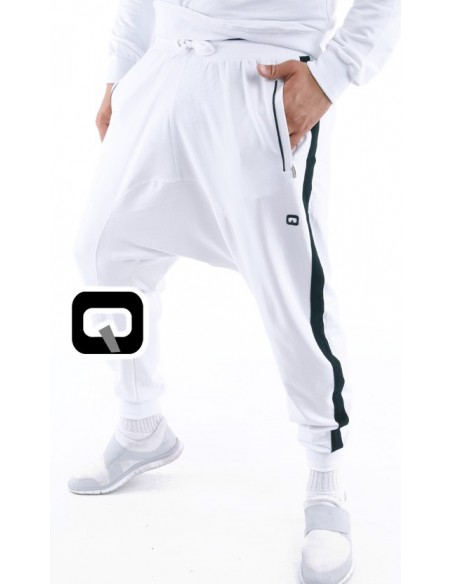 ensemble jogging qaba'il shadow blanc
