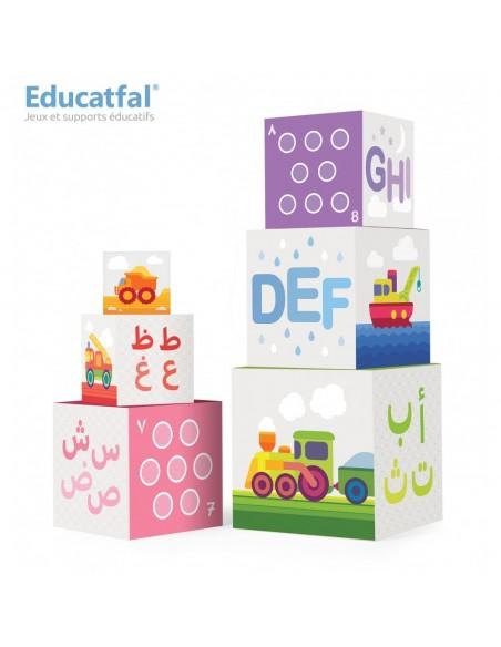 Jeux educatfal ludo cubes