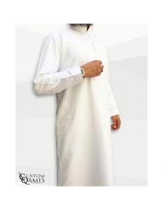 Custom Qamis Sultan Blanc