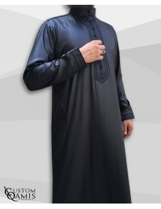 Custom qamis sultan noir