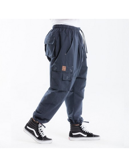 sarouel battle dc jeans evo long marine