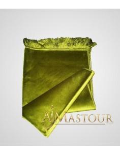 Tapis de prière de haute gamme vert olive
