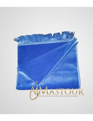 Tapis de prière de haute gamme bleu