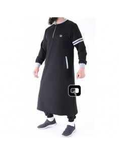 Qamis jogging qaba'il roadster noir