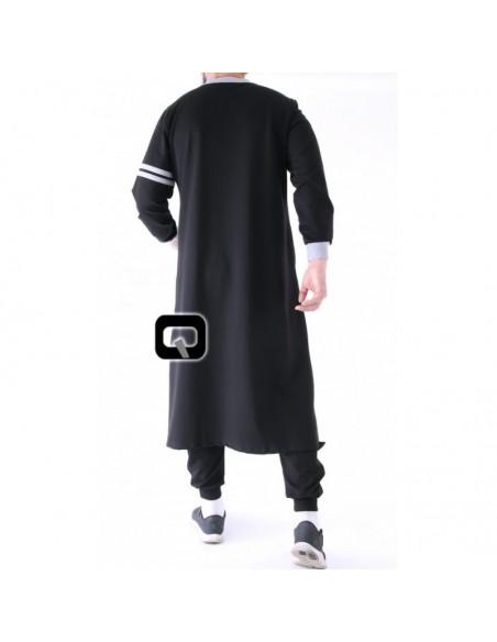 Qamis jogging qaba'il raodster noir