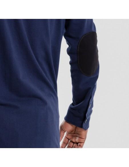 Polo DC jeans Manches Longues Bleu Marine 2018