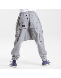 Saroual DC Jeans Battle Evo Gris Clair 2018
