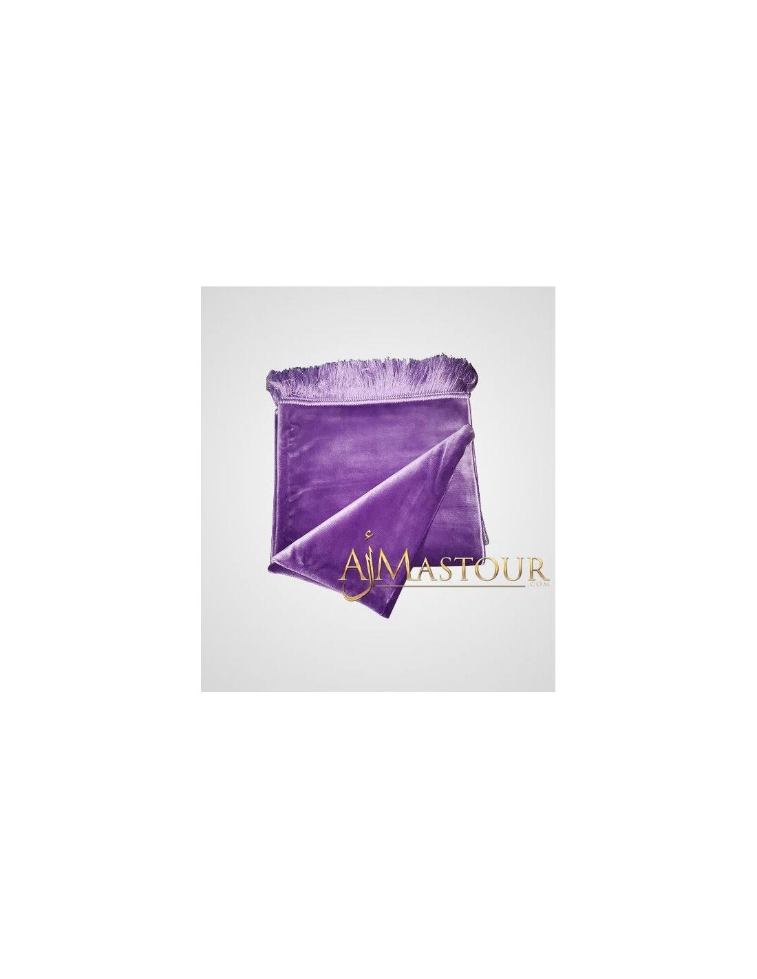 tapis de pri re de haute gamme violet almastour. Black Bedroom Furniture Sets. Home Design Ideas