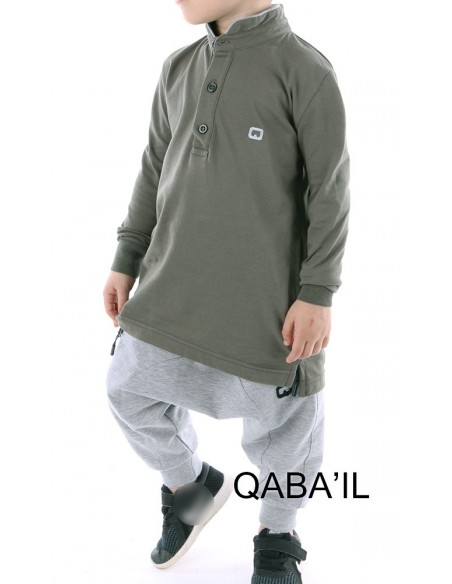 Polo Qaba'il Enfant Kaki