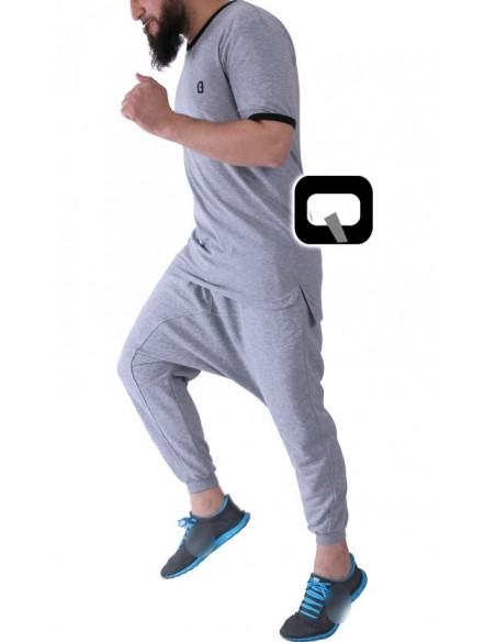 Sarouel unit / qaba'il gris