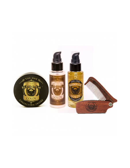 Coffret Soin Barbe Goldy -The One
