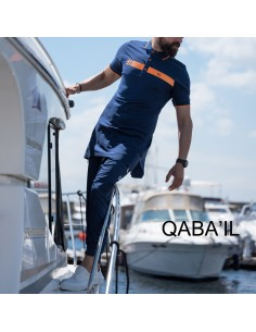 Polo Bi Color Indigo - Qabail