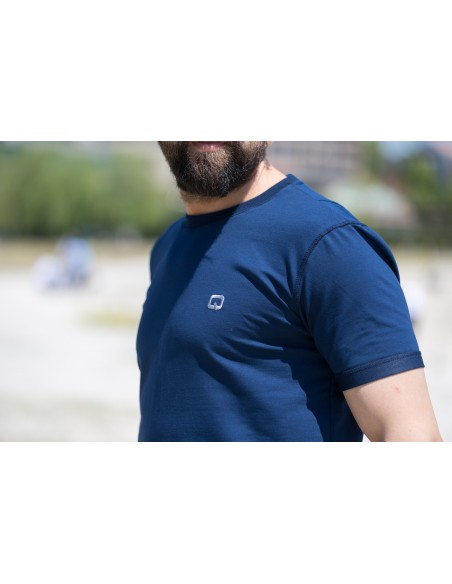 Tee Shirt Nautik Indigo - Qaba'il
