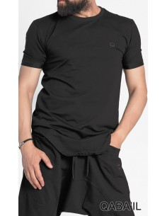 Tee Shirt Nautik Noir -Qaba'il