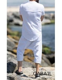 Tee Shirt Nautik Blanc -Qaba'il