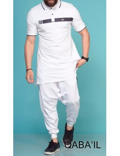 Polo Blanc - Qabail