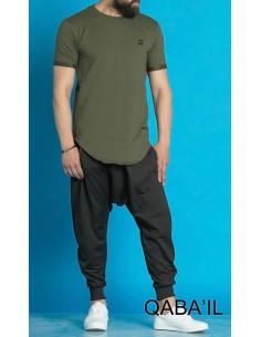 Tee Shirt Nautik Kaki-Qaba'il