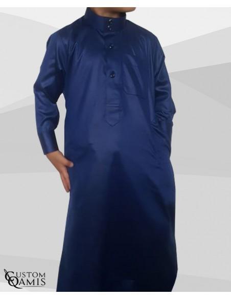 Qamis Enfant Bleu- Custom Qamis