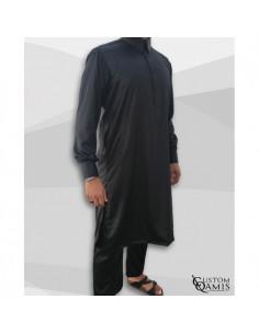 Qamis Pakistanais Noir