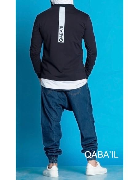 Veste Naoki Bleu Nuit -Qaba'il