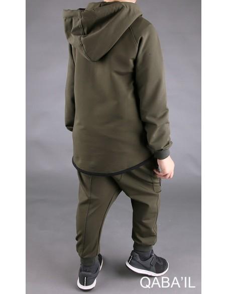 Survêtement Enfant Legend Neo Kaki- Qaba'il