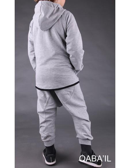 Survêtement Enfant Legend Neo Gris- Qaba'il