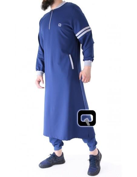 Qamis jogging qaba'il raodster marron