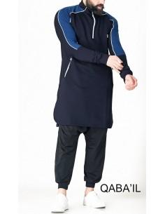 Qamis Qaba'il Court Motorsport Bleu Nuit / Indigo