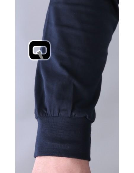 Tee Shirt Manches Longues Bleu-Qaba'il