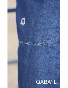 Sarouel Pants Jeans Bleu-Qaba'il