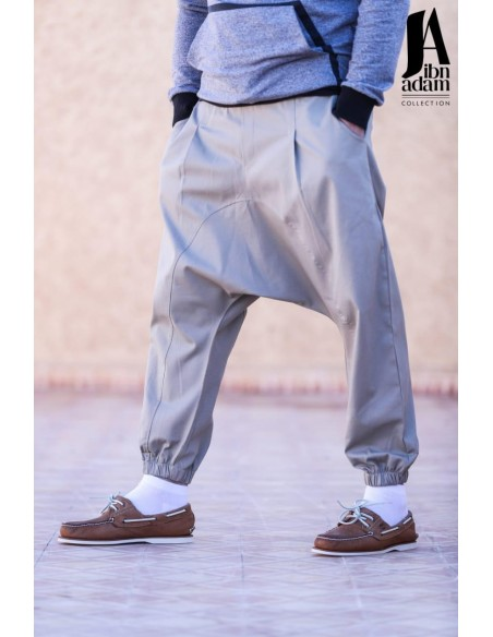 Sarouel Hilal Classic Beige-Ibn Adam