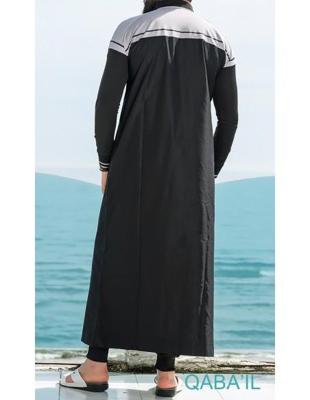 Qamis Classique II Noir-Qaba'il