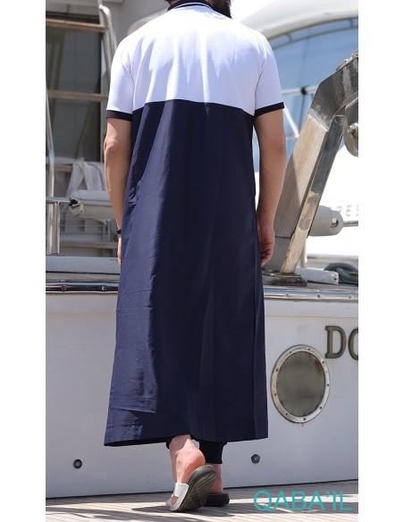 Qamis Navy II Bleu Nuit-Qaba'il