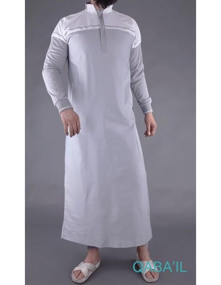 Qamis Classique II Gris -Qaba'il
