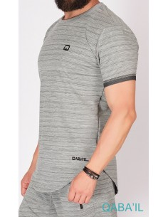 Tee Shirt Nautik Up Gris-Qaba'il